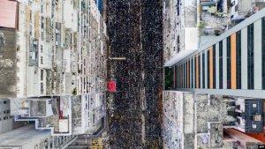 """香港民阵称近""""反200万人参与送中""""黑衣大游行"""