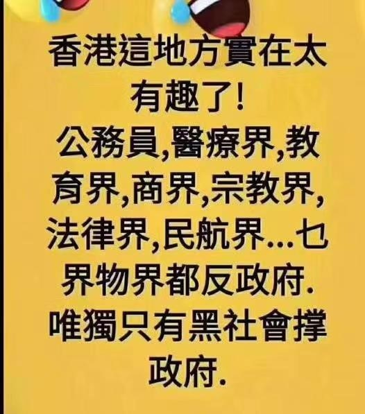 梁慕嫻: 我看目前香港局勢
