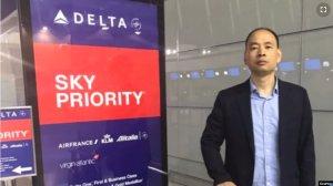 中国人权律师赴美被限制出境