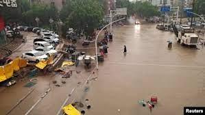 法新社:为什么中国的洪灾屡破记录?