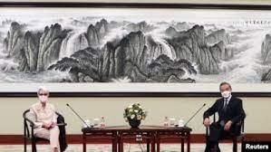 美中双方如何评价天津会谈?
