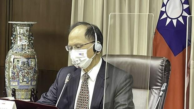 RFA:游錫堃建議美國政府:「台海有事,立即外交承認台灣」