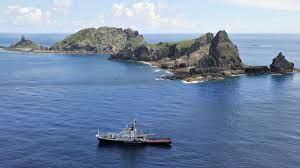 日本给中国划红线,防卫相:日本决心像保卫领土一样保卫尖阁诸岛
