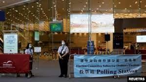 香港选委会选举结束,非建制派硕果仅存1人