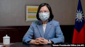 """蔡英文总统警告:台湾若落入中共之手,将产生""""灾难性""""后果"""